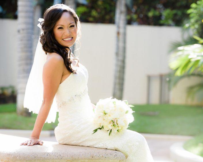 Wedding Photography at the Hale Koa Hotel, Waikiki. Photo by Mayberry Multimedia