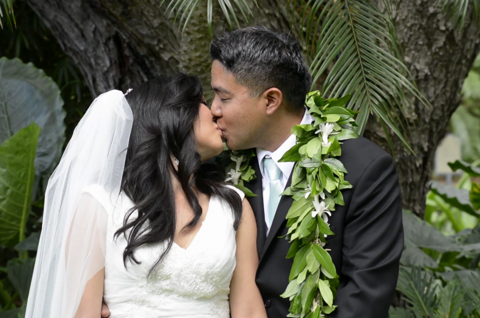 Wedding Videography at Hale Koa, Oahu Hawaii. Photo by Mayberry Multimedia
