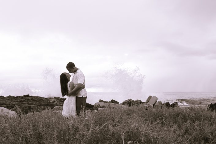 Engagement Photos, Four Seasons Resort Oahu at Ko Olina. Photo by Mayberry Multimedia