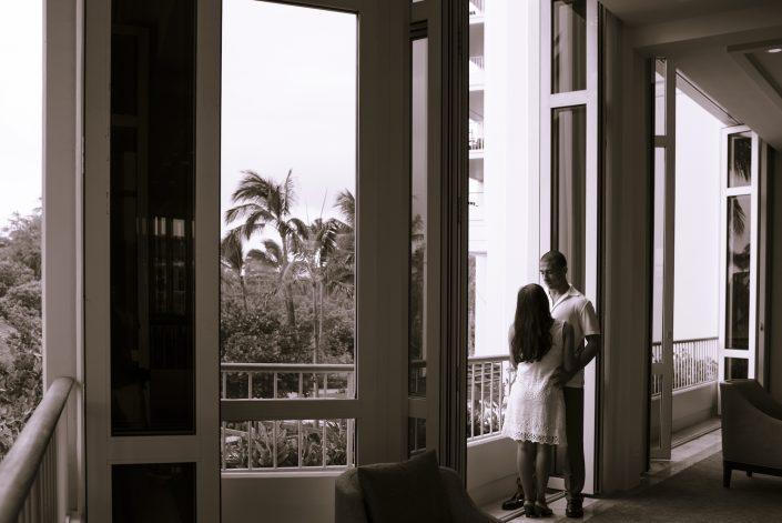 Engagement Photos, Four Seasons Resort Oahu at Ko Olina. Photo by Mayberry Multimedia