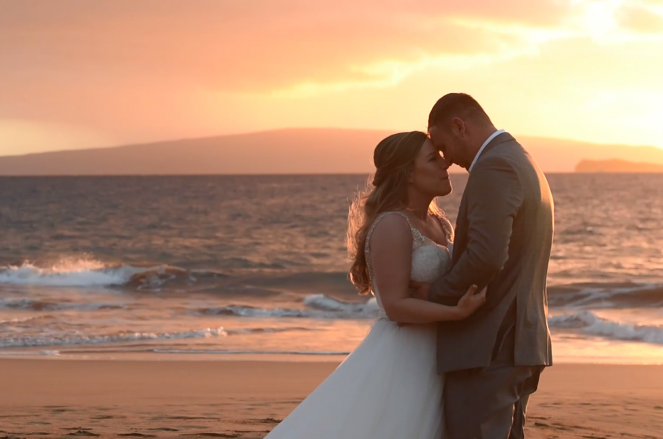 Maui Wedding Videography Po'olenalena Beach, Hawaii. Photo by Mayberry Multimedia
