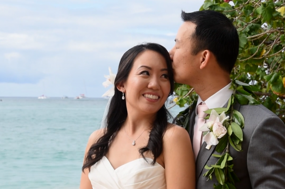 Wedding Videography at Halekulani - Photo by Mayberry Multimedia