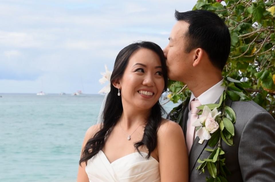 Wedding at the Halekulani: Dan and Jessica