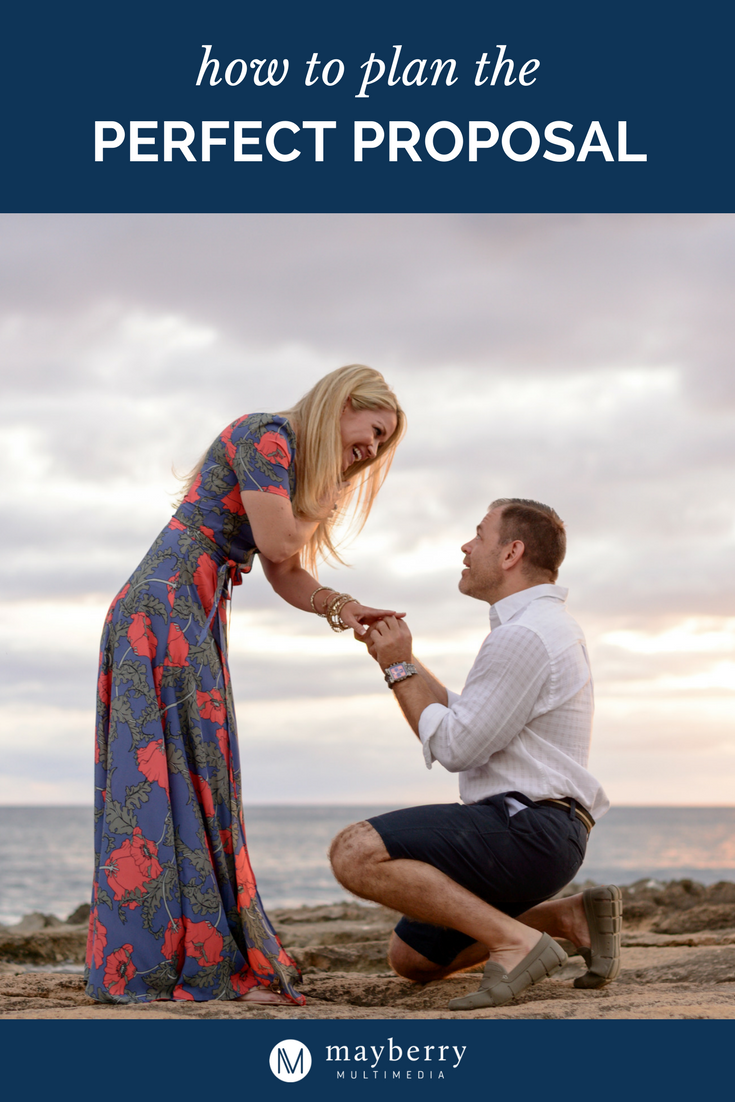How to Plan the Perfect Marriage Proposal in Hawaii - Photo by Mayberry Multimedia