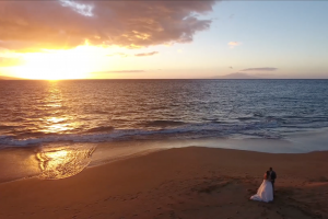 Hiring a Drone for Your Wedding - Maui Drone Wedding Video - Mayberry Multimedia