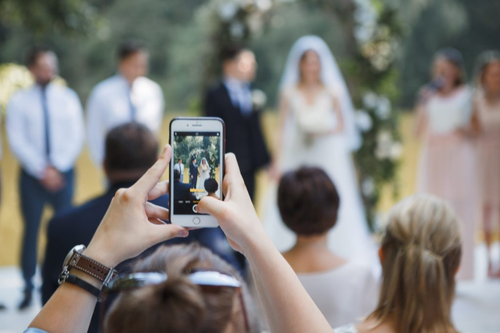 Why You Should Have an Unplugged Wedding Ceremony - Mayberry Multimedia